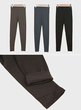丝毛空气跨度加绒打底裤