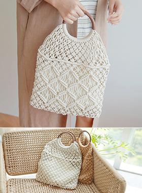 圆形手柄网包装