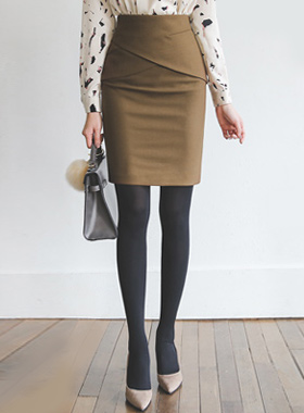 Tulip Pepper H Line裙子(冬季)