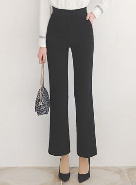스웨이드터치 세미부츠컷 高 宽松长裤