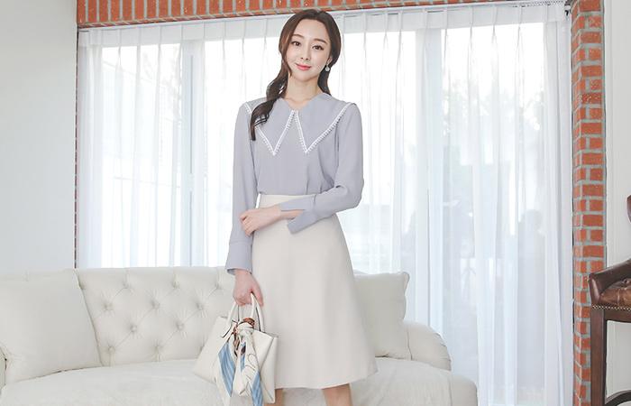 春季 双重 喇叭 裙子 Ⅱ