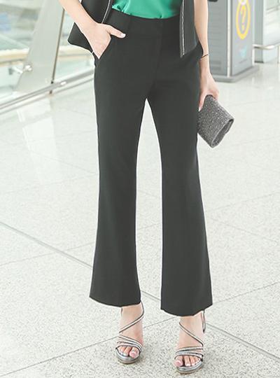 正式靴型裤宽松长裤