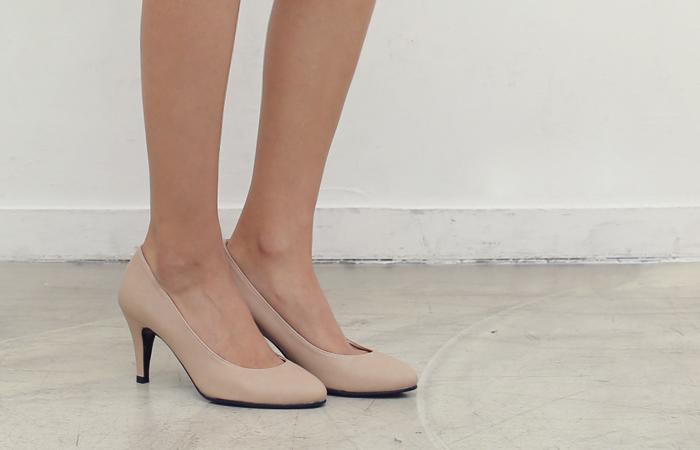 淡日浅口式鞋