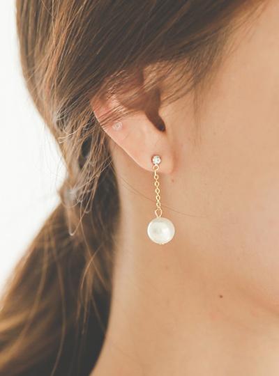 镶钻&珍珠 吊坠 耳环