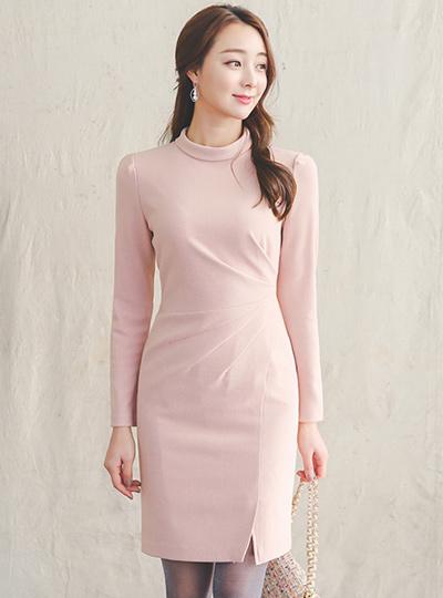 Josephine捏褶缝衣衣裙
