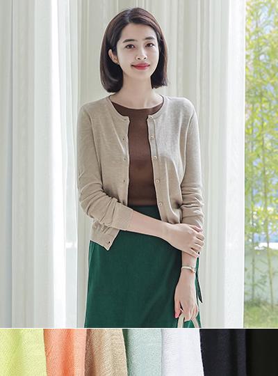棉花圆领圆领衫(春季)