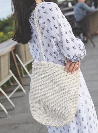 夏天 日常 编织 肩包