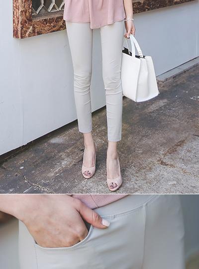 冰弹力打底裤短裤