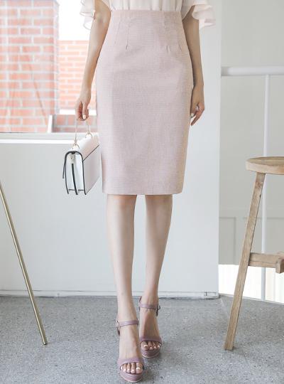 星星格子 H字型 弹力 裙子