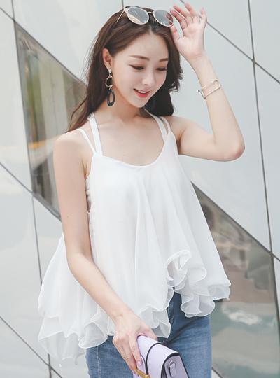 波折叠nashi女人衬衫