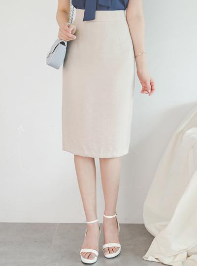 柔丝 H字型 腰头线条 裙子
