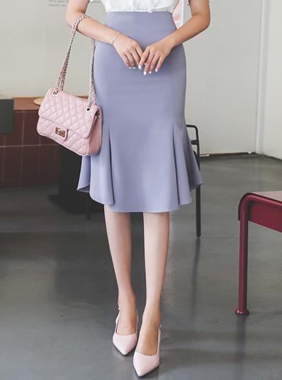 不规则 美人鱼 曲线 裙子
