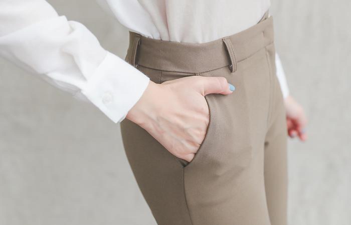 正装 弹力 柔软 喇叭 宽松长裤(fall)