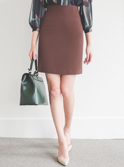 简单 Dart 弹力 H字型 5分 裙子