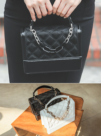 链条 绗缝 手提包