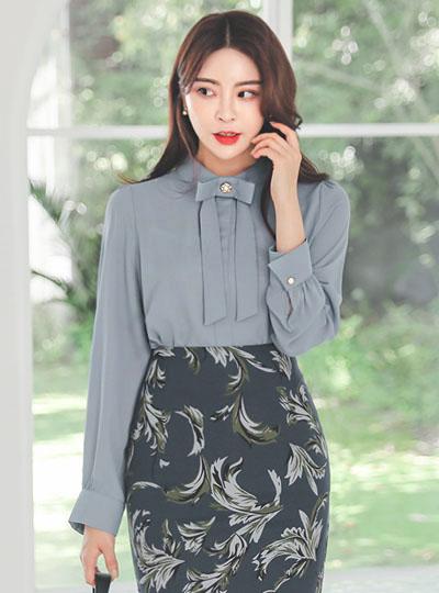 珍珠 蝴蝶结 高龄 罩衫