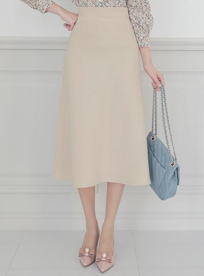 淑女 喇叭 长款 裙子