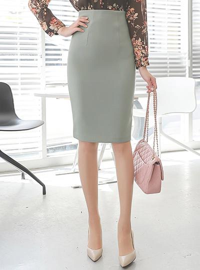 女性化的 高腰 裙子(fall) Ⅱ