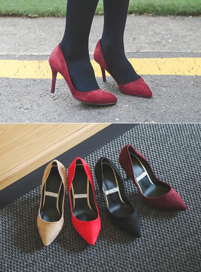 翻毛皮细高跟鞋垫(2厘米/7厘米/9厘米)
