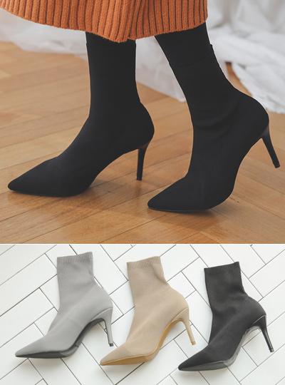 针织衫saks鞋跟