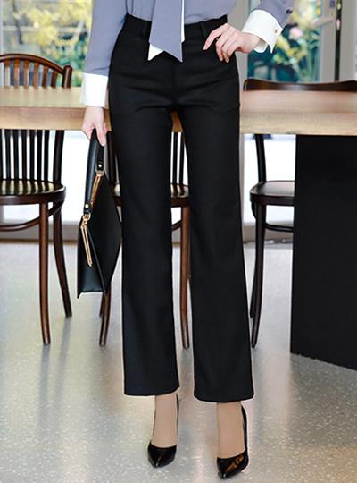 现代基本正统宽松长裤